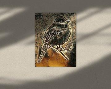 Vogeltje von Jose Lok