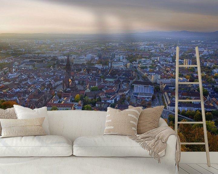 Beispiel fototapete: Freibnurg im Herbst von Patrick Lohmüller