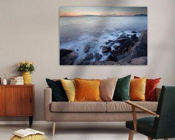 Kliffen van Lofoten Noorwegen van Desiree Tibosch