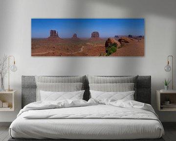 Monument Valley view van Yannick uit den Boogaard