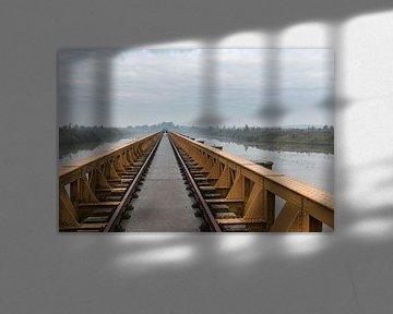 De Moerputtenbrug in 's-Hertogenbosch van Sander Groffen