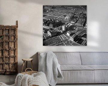 Rotterdam Coolsingel en Blaak anno 1955 van Roel Dijkstra