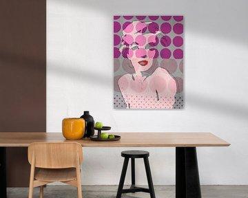 Marilyn avec des points