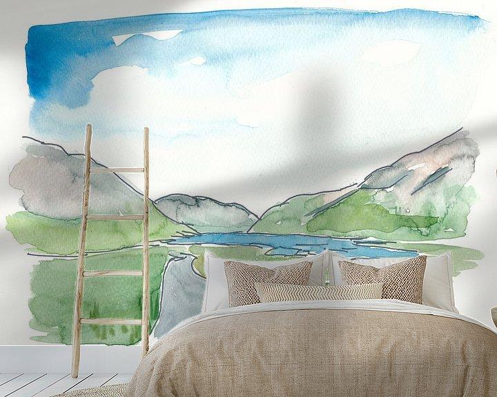 Beispiel fototapete: Irland Doolough Tal County Mayo von Markus Bleichner