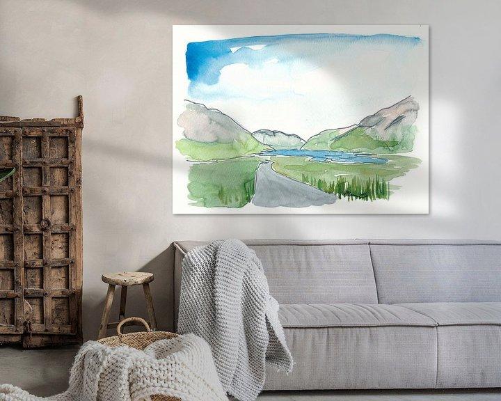 Beispiel: Irland Doolough Tal County Mayo von Markus Bleichner