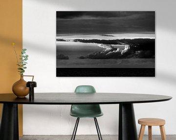 Wolken boven de zee van Stephan Zaun