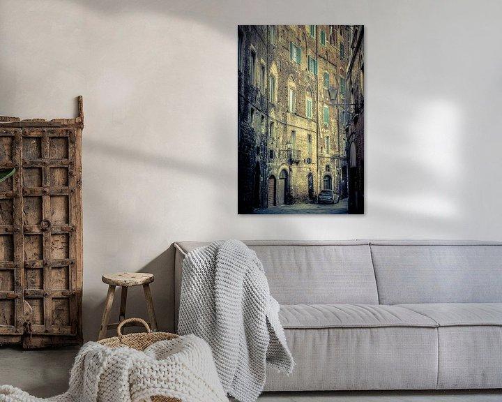 Beispiel: In den Straßen von Siena von Denis Feiner