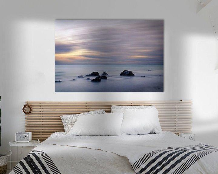 Beispiel: Abendlicht an der Ostsee von Ralf Lehmann