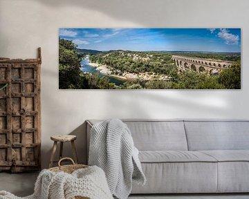 Panorama Pont du Gard