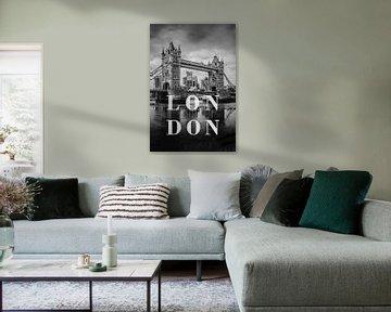 Städte im Regen: London von Christian Müringer