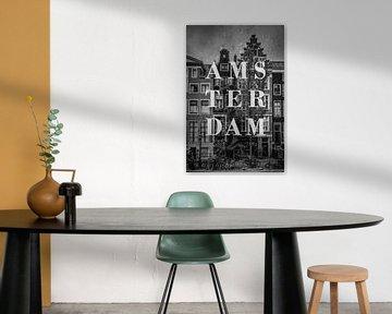 Städte im Regen: Amsterdam von Christian Müringer