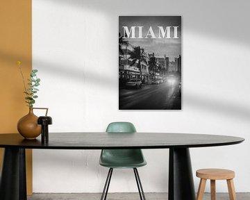 Steden in de regen: Miami van Christian Müringer