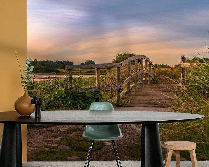 Beispiel fototapete: Eine Brücke von Jens Sessler