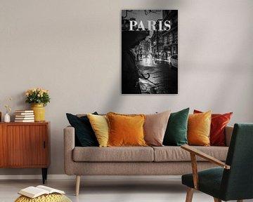 Städte im Regen: Paris II von Christian Müringer