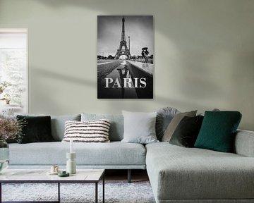 Städte im Regen: Paris III von Christian Müringer
