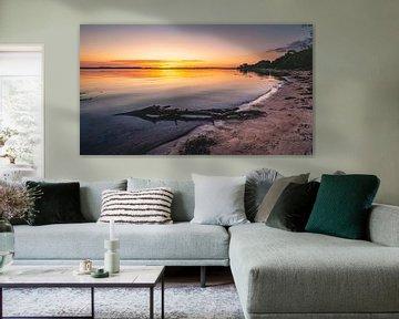 Sonnenaufgang an der Ostsee von Jens Sessler