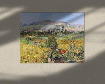 Pfälzer Landschaft, MAX SLEVOGT, 1910