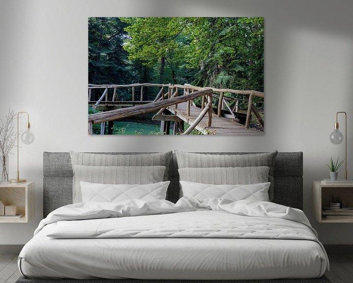 Beispiel: Hölzerne Brücke von Anjo ten Kate