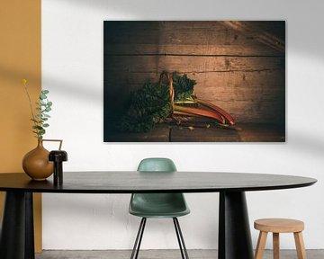 Rhubarbe sur Regina Steudte | photoGina