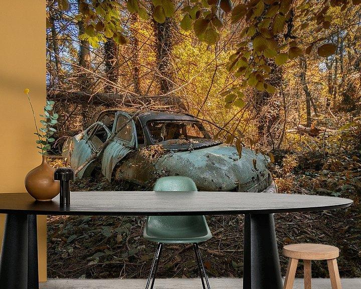Beispiel fototapete: Lost Place - abandoned Car von Linda Lu