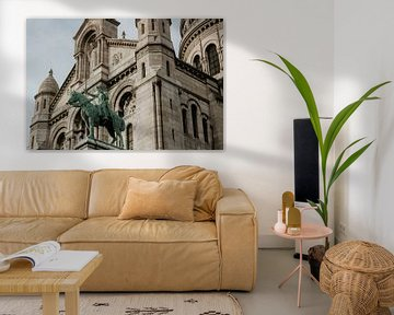 Sacré Coeur, Montmartre à Paris | Photographie de voyage colorée sur Trix Leeflang