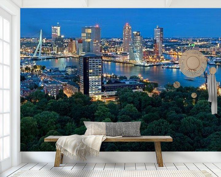 Sfeerimpressie behang: Rotterdam Wereldhavendagen 2013 / Panorama van Rob de Voogd / zzapback