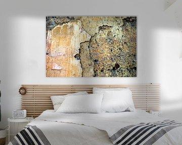 abstracte muur: Living Stone von Artstudio1622