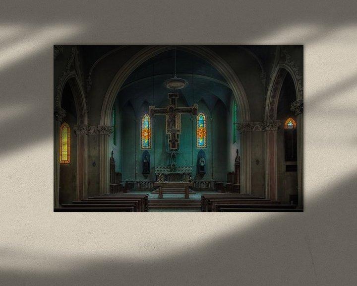 Beispiel: Verlassene Kapelle von Maikel Brands