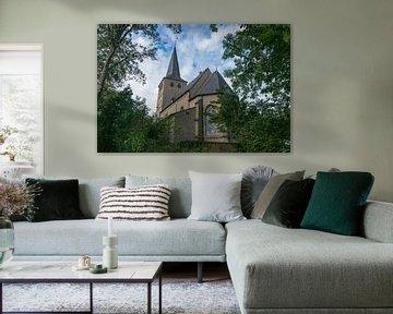 Mooie kerk in Hoch Elten, Duitsland van Patrick Verhoef