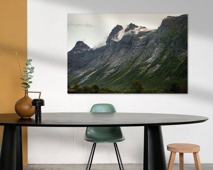 Sfeerimpressie: Berglandschap in Noorwegen van Karijn   Fine art Natuur en Reis Fotografie