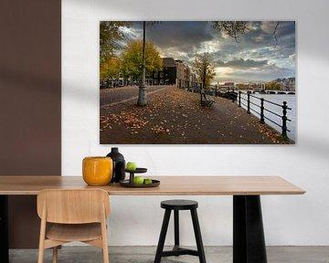 Herbst in Amsterdam von Foto Amsterdam / Peter Bartelings
