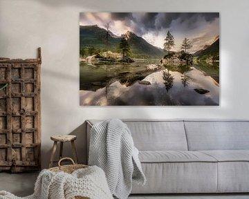 Le Hintersse près de Berchtesgaden en Bavière sur Voss Fine Art Fotografie