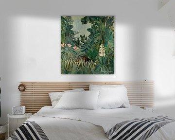 The Equatorial Jungle van David Potter