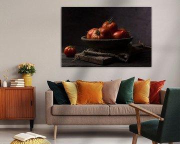 Schaal tomaten van Anoeska Vermeij Fotografie