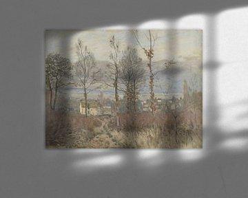 Blick auf Louveciennes im Herbst, Alfed Sisley