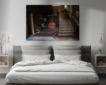 Treppe im Schloss von Wonderland of Decay