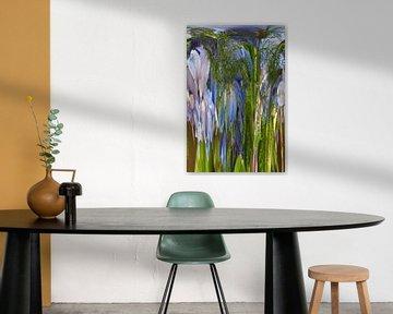 Verrückte Blumen (3) von Wim van Berlo