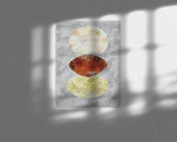Balance 2 - Abstrakte organische Formen von Maurice Dawson