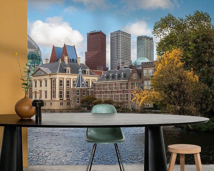 Beispiel fototapete: Den Haag - De Hofvijver - 5 von Nuance Beeld