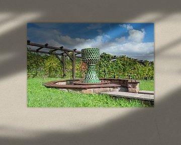 Rusten bij de wijngaard van Peter Eckert