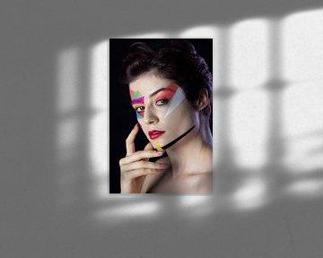 Die farbige Schönheit von Iris Kelly Kuntkes