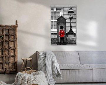 London - the guard