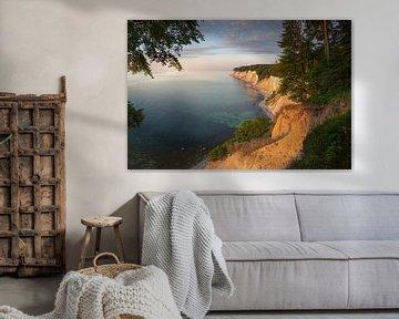 De krijtrotsen op het eiland Rügen aan de Oostzee van Voss Fine Art Fotografie