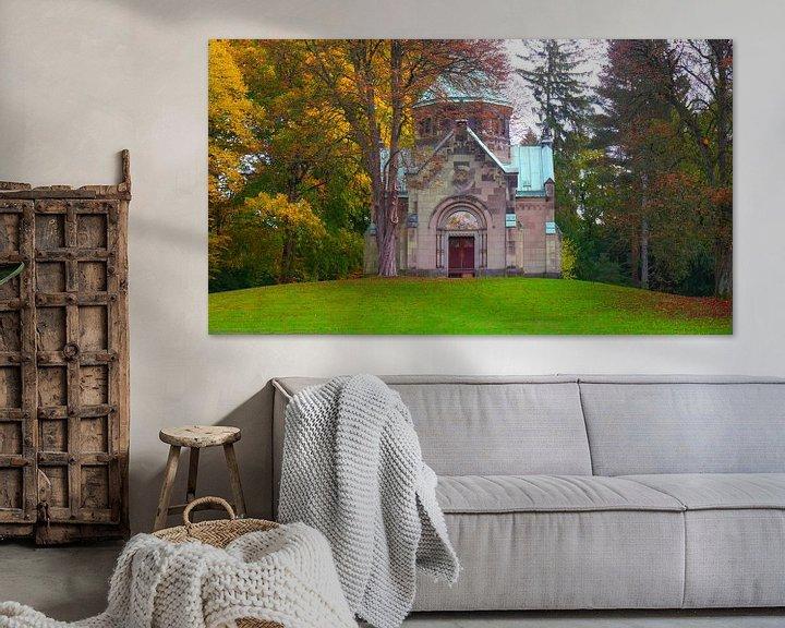Sfeerimpressie: Herfst in Ohlsdorf van Peter Norden