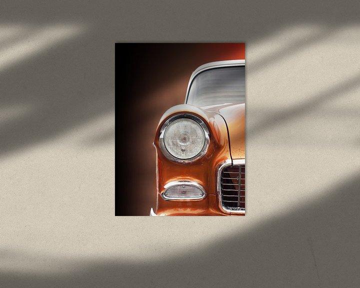 Impression: Voiture classique américaine 1955 Bel Air sur Beate Gube