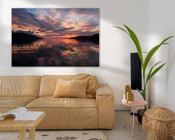 Zonsondergang van Joos fotoos