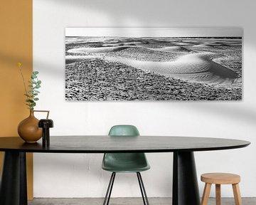 Wanderdünen am Strand von Ameland von Anja Brouwer Fotografie