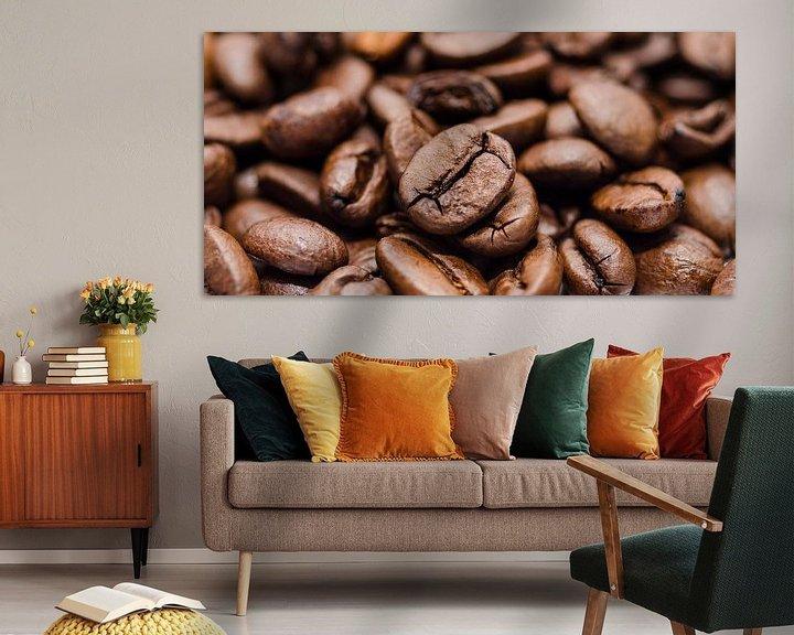 Sfeerimpressie: Geroosterde koffiebonen van Peter Heeling