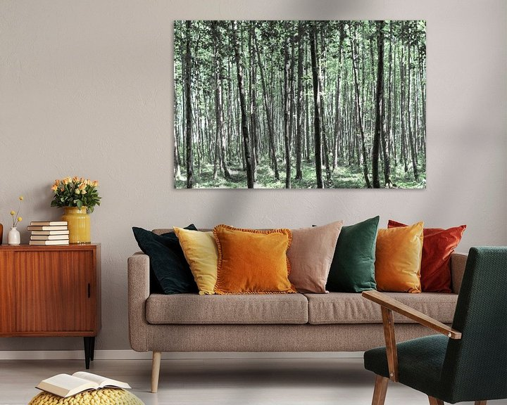 Impression: Une belle forêt sur Miranda van Hulst