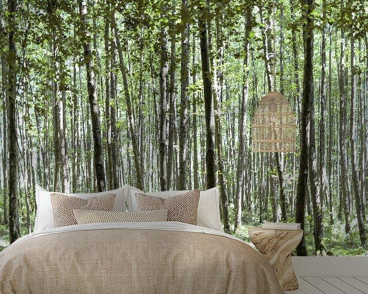 Impression: Belle forêt II sur Miranda van Hulst